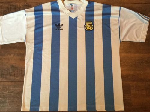 1991 1992 Argentina Football Shirt Adults 2XL XXL